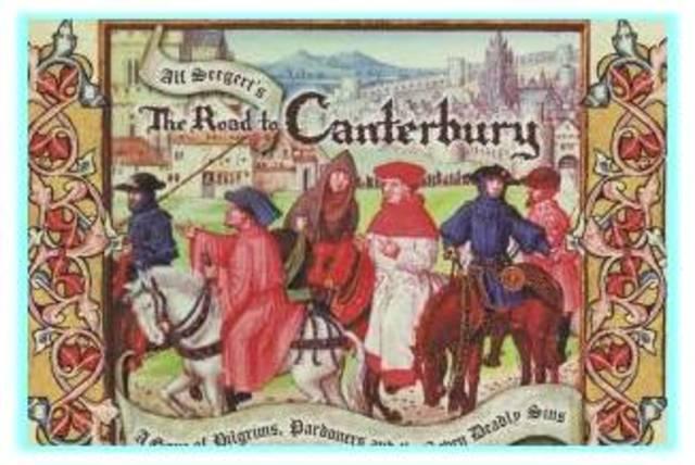 Major Work- The Canterbury Tales by Geoffery Chaucer