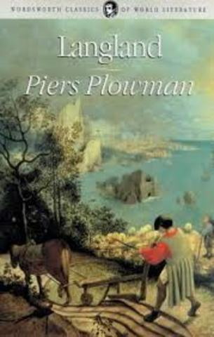 Major Work- Piers Plowman by William Langland