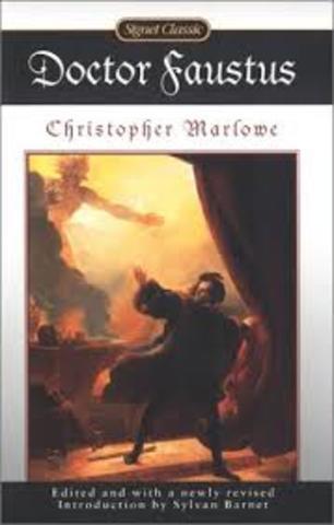 Major Work- Doctor Faustus by Christopher Marlowe