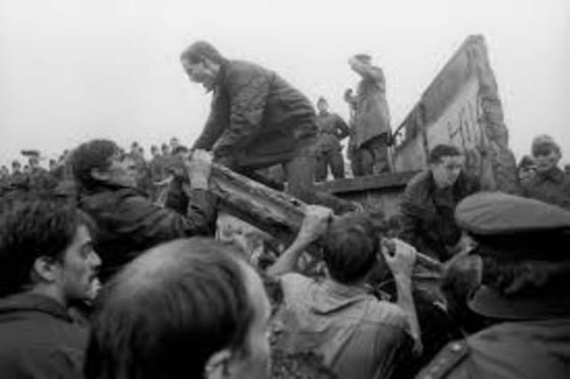 Major Event- Fall of The Berlin Wall