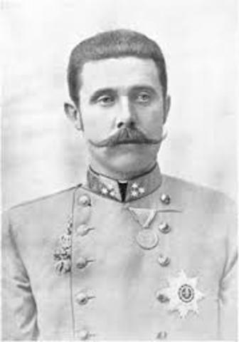 Assassination of Archduke Franz Ferdinand of Austria