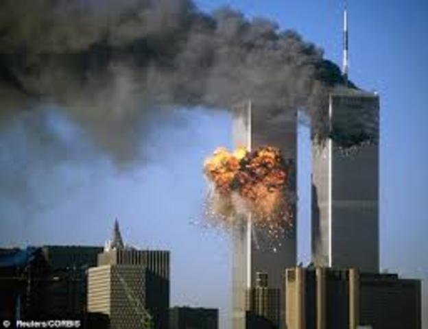 Bombinvg Of the Twin Towers