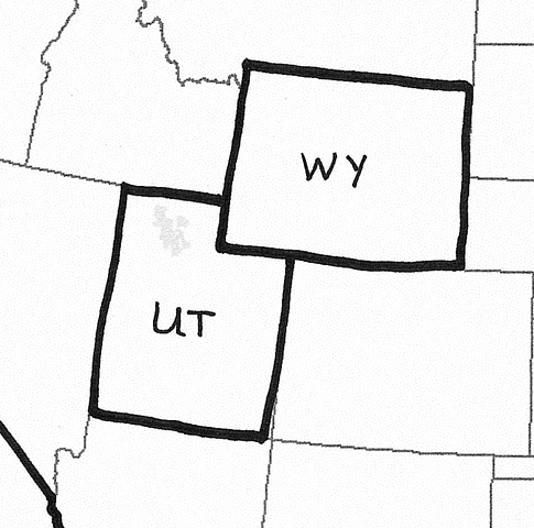 Wyoming and Utah grant women the right to vote