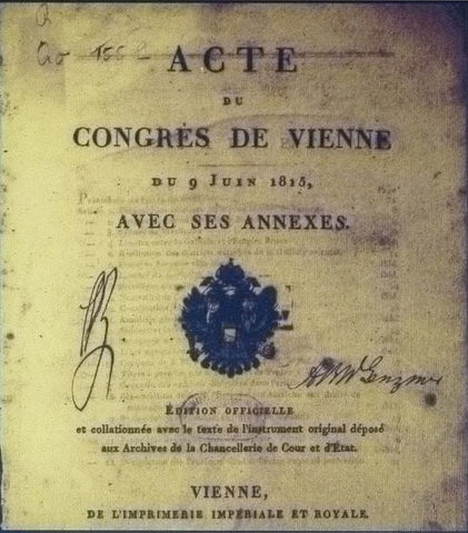 Congress of Vienna (Miled Hill)