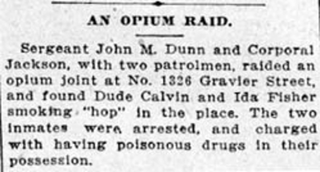 International Opium Convention (Miled Hill)