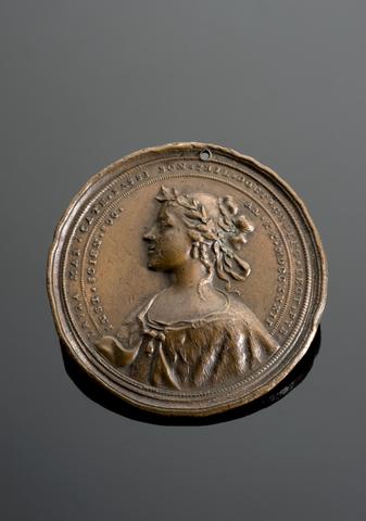 Medal commemorating Laura Maria Caterina Bassi, Italy, 1732