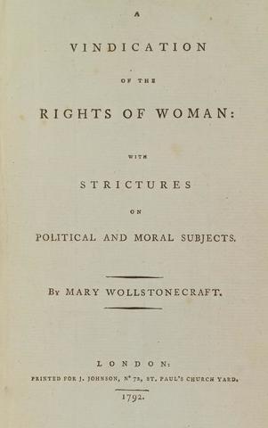 Mary Wollstonecraft (1792)