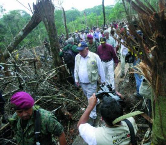 Colombia y Ecuador: Misión de Buenos Oficios de la OEA (MIB/OEA)