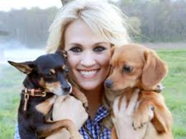 Carrie turns vegan