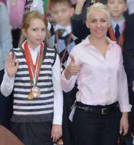 Поздравляем Яну Якубович, ученицу 7ИТ3 класса с выдающимся результатом на первенстве мира по шашкам-64 среди молодежи.