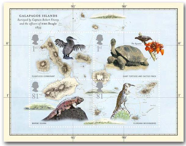 Darwin realiza el viaje a las Islas Galápagos, que inspiró a Darwing por el camino de la ciencia.