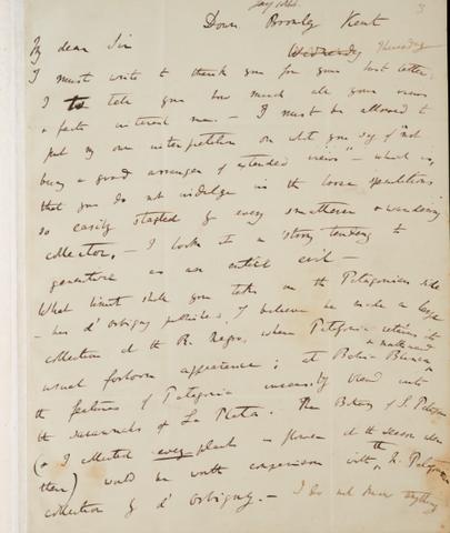 Wallace envía una carta a Darwin, que incluía un artículo sobre la evolución de las especies y la selección natural.