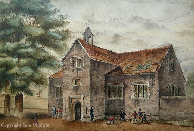 Wallace comienza sus estudios en Hale's Grammar School