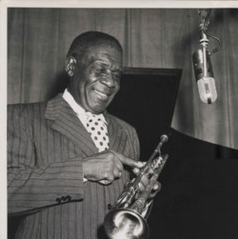 *Replacement of King Oliver in Kid Ory's Band