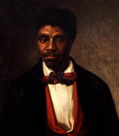 Dred Scott v. Sandford (Missouri Compromise = unconstitutional)