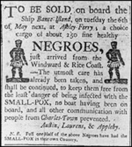 First enslaved African Americans arrive in America