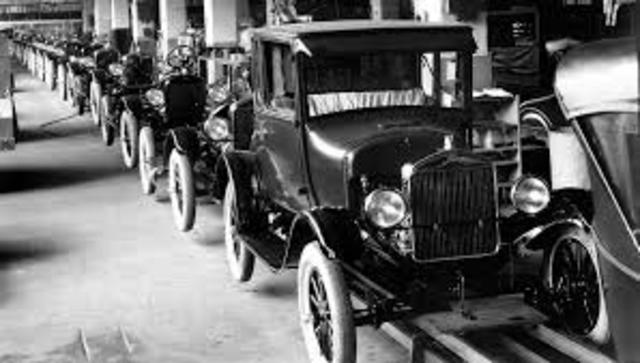 The Henery Ford Assembly line