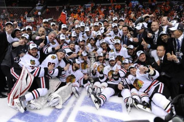 Blackhawks Win The Cup Again, as usual