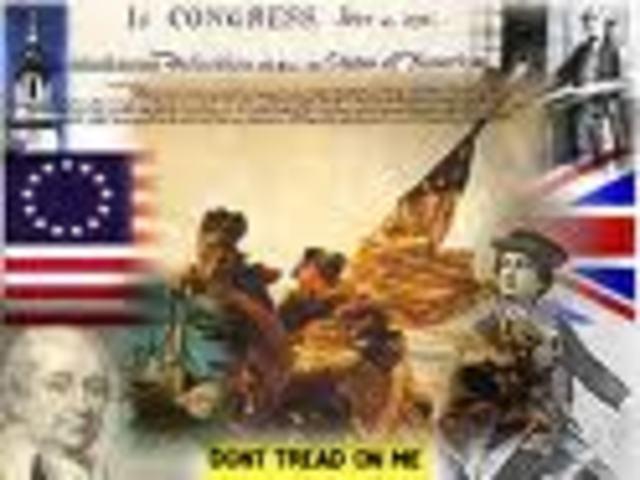 Start of American Revolution