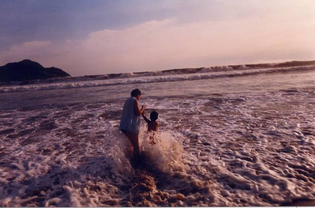 Primer viaje a a la playa; Mazatlán, Sinaloa