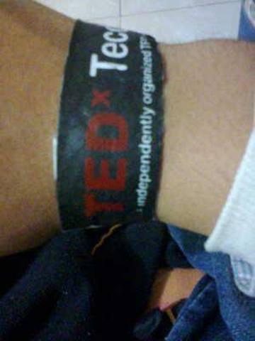 Asistió a su primera conferencia TEDx