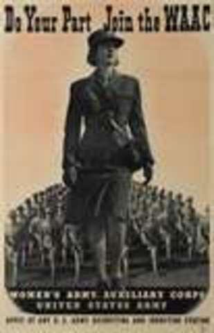 Women's Auxiliary Army Corps (WAAC)