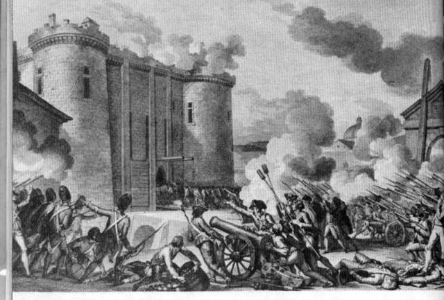 French Peasentry stormed the Bastile