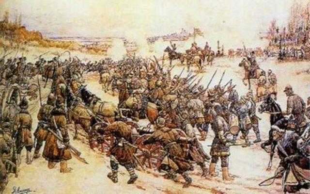 Осада Болотниковым Москвы