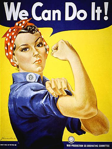 Rosie the Riveter and FEPC: Women and minorities contribute to the war effort