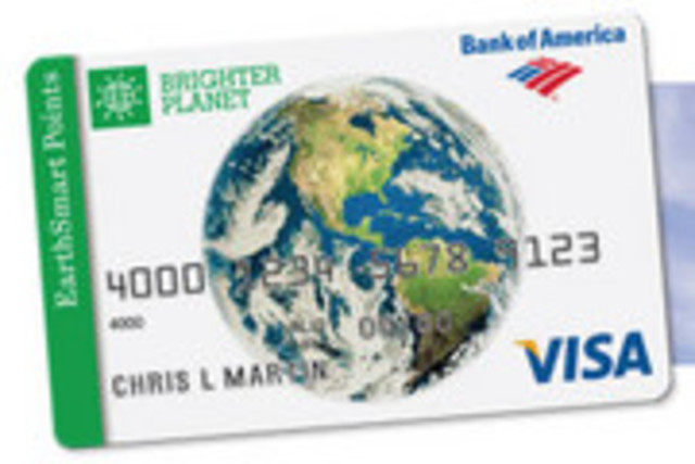 Bank of America launches the first credit card