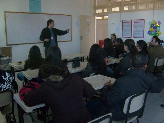Início do projeto de Extensão Astronomia na Escola