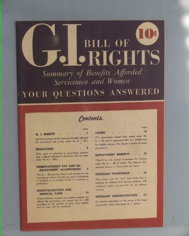 The G.I. Bill of Rights