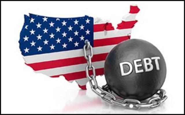 American Debt Raises To Trillions