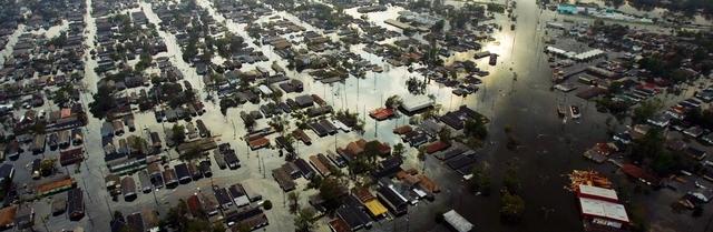 Hurricane Katrina Strikes