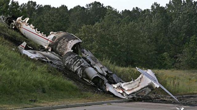 Travis Barker's Plane Crash