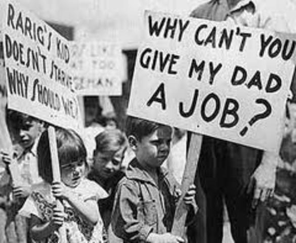 Crisis de empleo en Estados Unidos