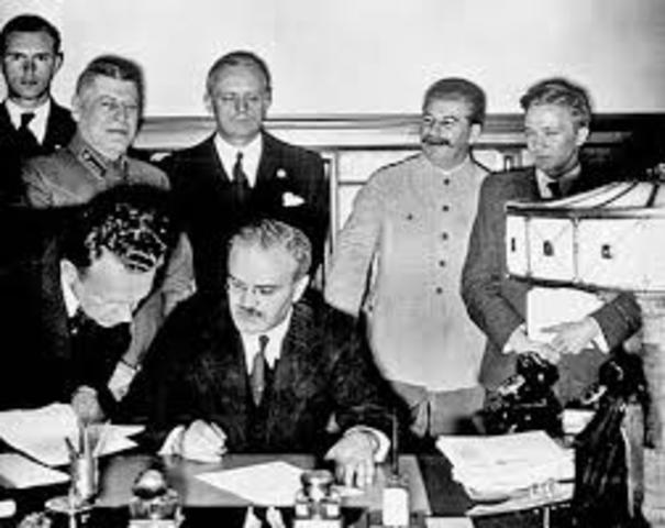 Firma de pacto entre URSS y Francia