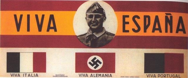 Mussolini y Hitler intervienen en guerra española
