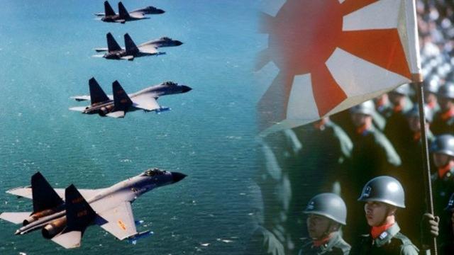 Ejército chino ataca marina japonesa
