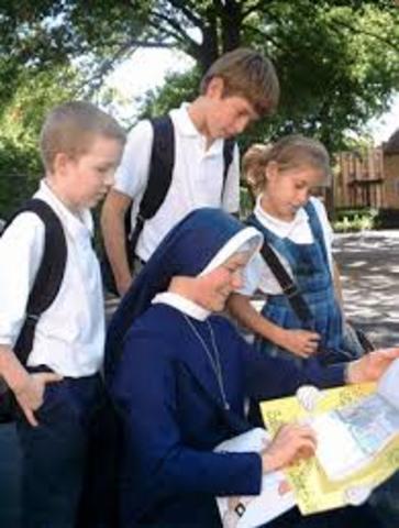 Mis maestras eran monjas