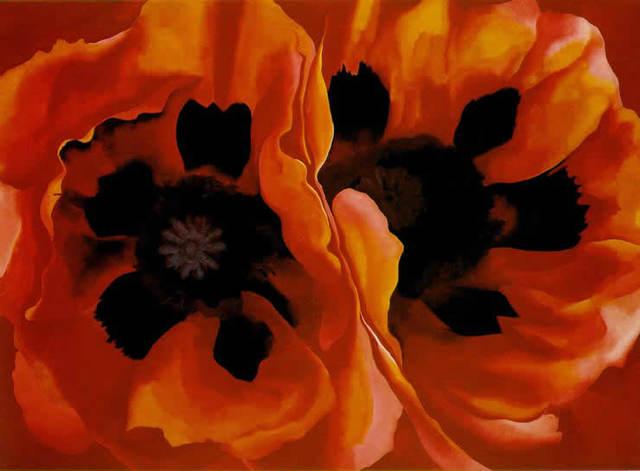 Oriental Poppies (Painting)