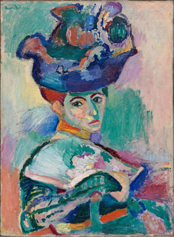 Woman with a Hat (Painting)