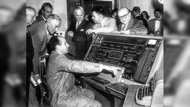 Primer computador.
