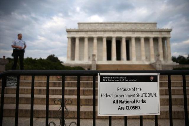 United States government shuts down