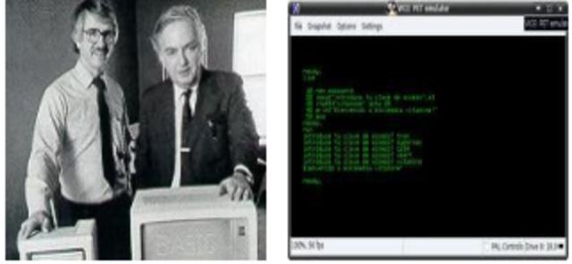 LENGUAJE BASIC Y COMPUTADORA  CDC 6600