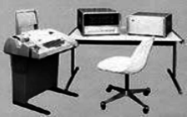 PRIMERA MINI COMPUTADORA PDP-8,