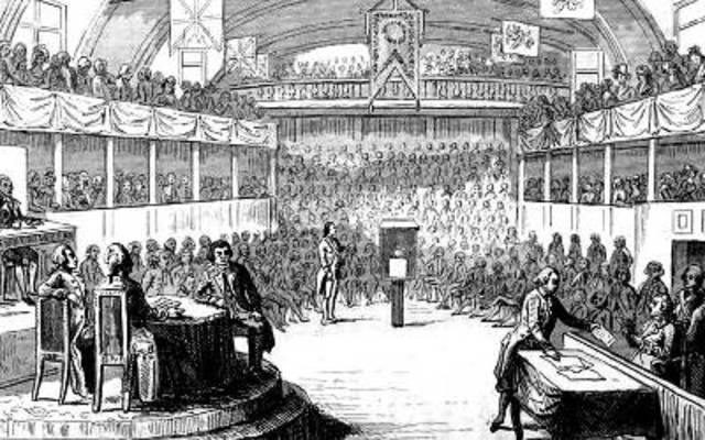 Declaration of the Republic and the Trial of Louis