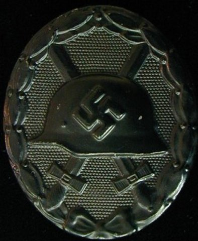 received the wound badge