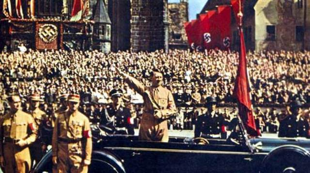 Hitler presented two laws known as the Nuremberg Laws