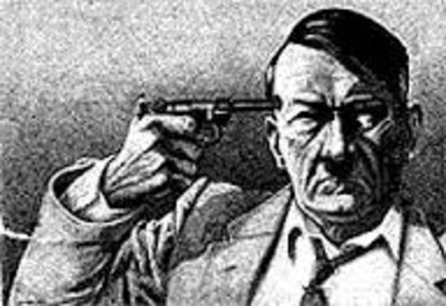 Hitler shot himself